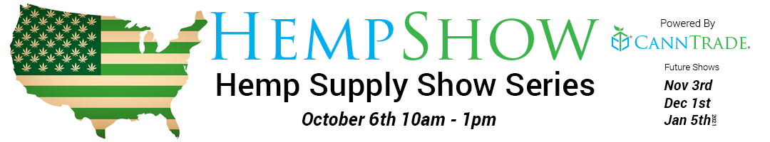 HempShow Supply Show Series Banner