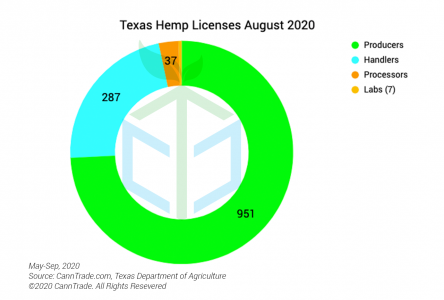 Texas Hemp Licensing Metrics